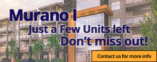 Just A Few Units Left in Phase I of Murano Gardens.  Do Not miss out!