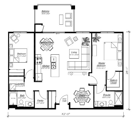 Second floor plans the capri murano gardens for Capri floor plan