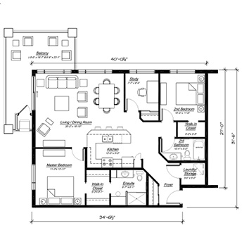 The Florence Floor Plan