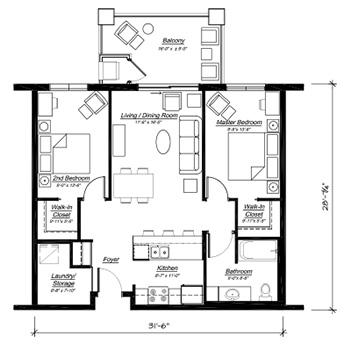 The Palermo Floor Plan