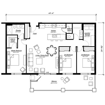 The Verona Floor Plan