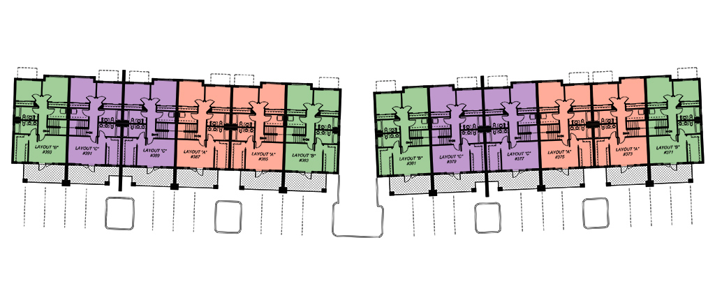 Townhouse Floorplan Overview
