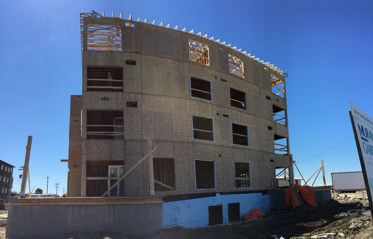 New Construction Updates - Framing is Complete!
