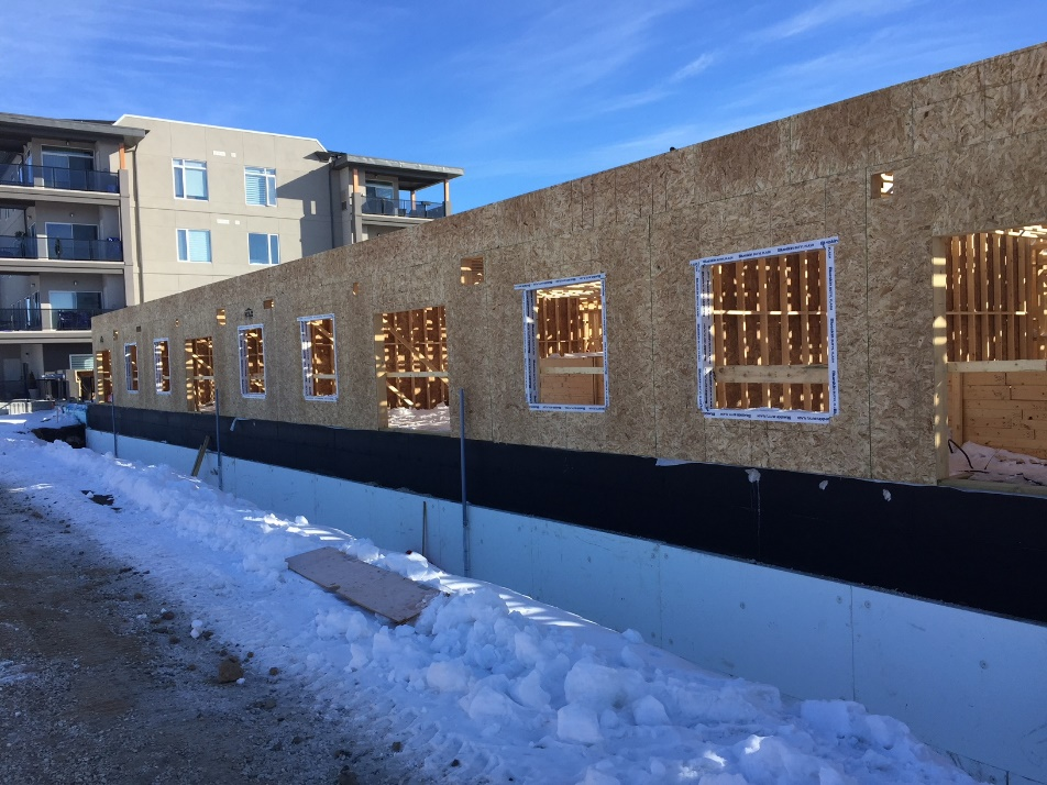 The foundation is now complete for Murano Gardens Phase 2 - Posted: March 16, 2018